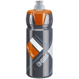 Elite Bidon Ombra Grey/Orange 550ml