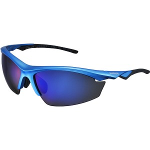 Shimano Okulary EQX2-PL Metallic Blue/Grey+Blue