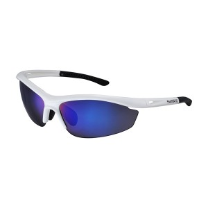 Shimano Okulary S20R Metal White/Smoke BlueMirror