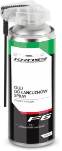 Olej w sprayu Kross F6 400 ml