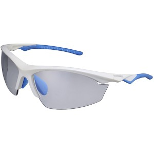 Shimano Okulary EQX2-PH Metallic White/PH Grey