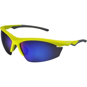 Shimano Okulary EQX2-PL Lime Yellow/Grey BlueMirror